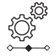 szöveg és logó animáció
