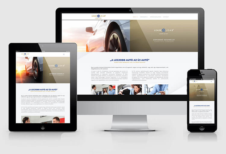 Lease n Lead weboldal